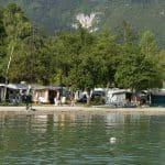 Le camping du lac bleu d'Annecy